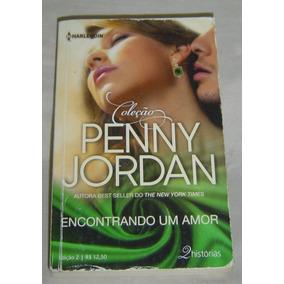 Livro Encontrando Um Amor - Penny Jordan - Edição 2.