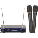 Vocopro Vhf-3005 Dual Channel Vhf Wireless Microphone