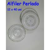 Alfiler Perlado Color Blanco X 480 Unid.- Novias