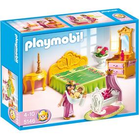 Cama Real Con Cuna Playmobil Pm5146 R5259