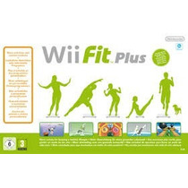 Wii Fit Plus Balance Board + Jogo Original Nintendo