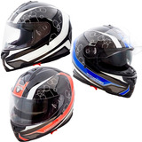 Casco Motos Ff300 D/visor Punto Extremo Integral Devotobikes