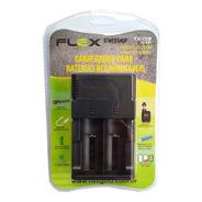 Carregador Bateria Lanterna 18500 18650 22650 26650 Flex C09
