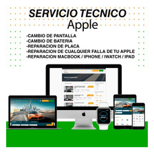 Servicio Tecnico Apple iMac Macbook iPad iPod iPhone Iwatch