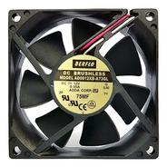 Cooler 80x80x25mm 12v 0.55a Alta Rotação Duplo Rolamento