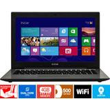 Notebook Led 14 Pol. F40-30 Intel 4gb - Hd 500gb Windows 8.1