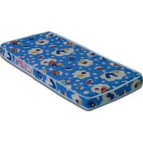 Colchão Baby Physical D18 60x130x10 - Ortobom Azul