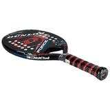 Raquete De Beach Tennis Dunlop Force Grafite + 2 Pack Qst 60