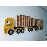 Caminhão Para Colecionar Carrinhos Em Miniatura. Tamanho 2 M