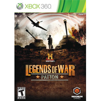 History: Legends Of War - Patton - Xbox 360 / X360