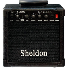 Cubo 15w Caixa Amplificador De Guitarra Sheldon Oferta!*