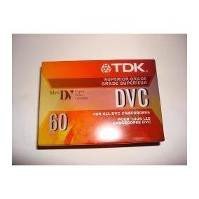 Casete Dvc Tdk Sp 60 Min. Lp 90 Min., Digital Cassette