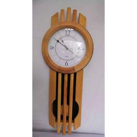 Reloj De Pared Con Péndulo En Madera Zg9828