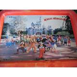 Bandeja Infantil Desayunador De Disneylandia