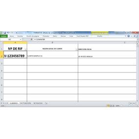 Registra Clientes Y Busca Sus Datos Importantes Rapido Excel