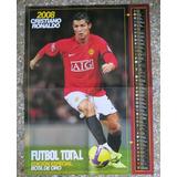 Afiche De Cristiano Ronaldo 2008 Manchester United