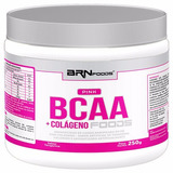 Pink Bcaa + Colageno 250g Brn Foods - Tangerina Fg