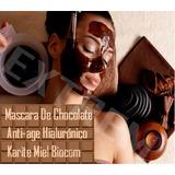 Mascara De Chocolate Anti-age Hialurónico Karite Miel Vit A