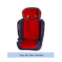Cadeirinha De Bebê Para Carro Nano Vermelho Galzerano