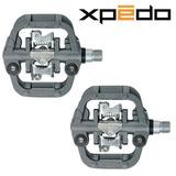 Pedal De Alumínio / Crmo X-pedo G Force Gf-2 Spd Clip
