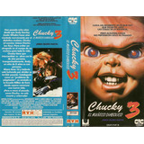 Chucky 3 Vhs El Muñeco Diabolico Clasico De Terror Gore