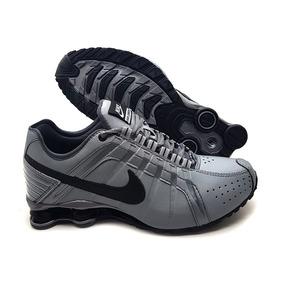 timeless design 632a4 e5f61 ... norway tênis nike shox junior 4 molas masculino promoço 1991e 53b64 ...
