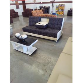 Sofa Cama De 3 Posiciones Con Porta Vasos