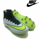 Chuteira Nike Campo Superfly Mercurial Promocao Queima Total
