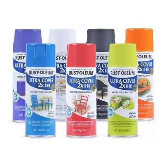 Pintura Aerosol Rust Oleum Ultra Bco/color 426ml/cm3 Pintumm
