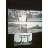 Lote Postales Antiguas Kyoto Japón 5 De Ellas Sin Timbres