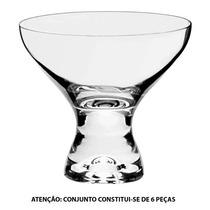 Conjunto 6 Taças P/ Sobremesa Vega 330 Ml Em Vidro - Bohemia