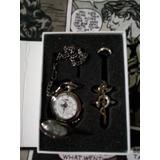 Full Metal Alchemist: Reloj De Alquimista + Anillo + Collar