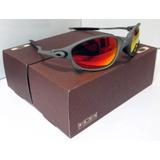 e03a189148d55 Oculos Oakley Double X Juliet Polarizado Gold Original