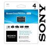 Sony Memory Stick 4gb Pro Duo Magicgate Psp Camaras Handycam