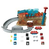 T&f Fábrica De Locomotoras Mattel Dmv91