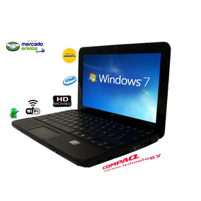 Netbook Compaq Hp Mini Liviana Portable Windows 7 Office