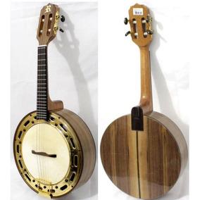 Banjo Elétrico Rozini Show Rj17eln - Natural