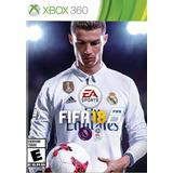 Fifa 18 Para Xbox 360 Entrega Instantanea No Pagar Envìo