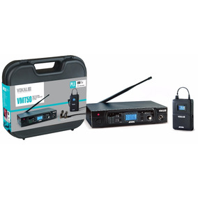 Sistema Monitor S/fio P/ Retorno Vokal Vmt50 Sem Fone