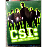 Csi: The Complete First Season (temporada 1) 6 Dvds (2003)