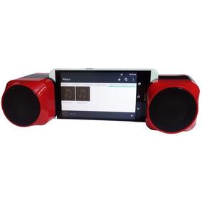 Bocinas Estéreo Rca Portátil Bluetooth Y Auxiliar Bt57656rd