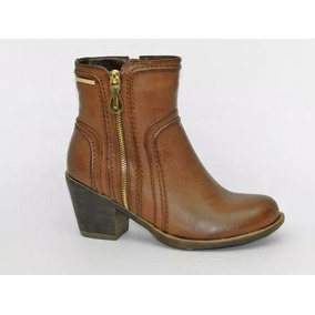 Bota Dama Marca Chocolate Marron Taco 7 Cm 3530