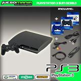Ps3 / Playstation 3 Desbloqueado / 160gb / 2 Controles