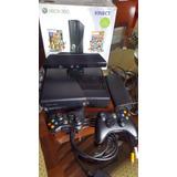 Xbox 360 250 Gb + Kinect + 2 Mandos Originales