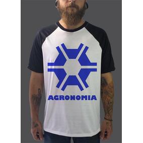 Raglan Agronomia Camisetas Blusa Moletom Cursos Faculdade