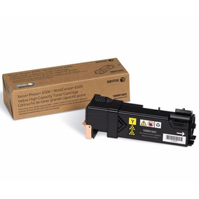 Toner Xerox Phaser 6500 / Wc 6505 Amarillo 106r01603 Alta C.