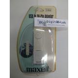 Adaptador Usb A 30 Pines Para Ipod Shuffle Maxell P-26