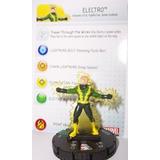 Heroclix Marvel Amazing Spider-man Electro 021 Con Tarjeta