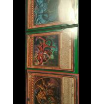 Cartas De Yugioh. 3 Dioses Ultra Raro+ Exodia+jinzo + Envío