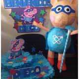 Piñata 3d Aviones Dusty, Super Wings Jett, Little Pony